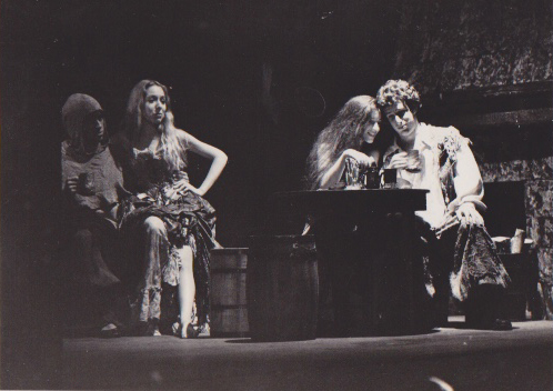Sharon Sigal in theater production